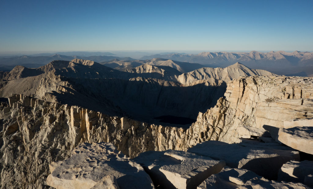 Mt. Whitney Summit looking southwest