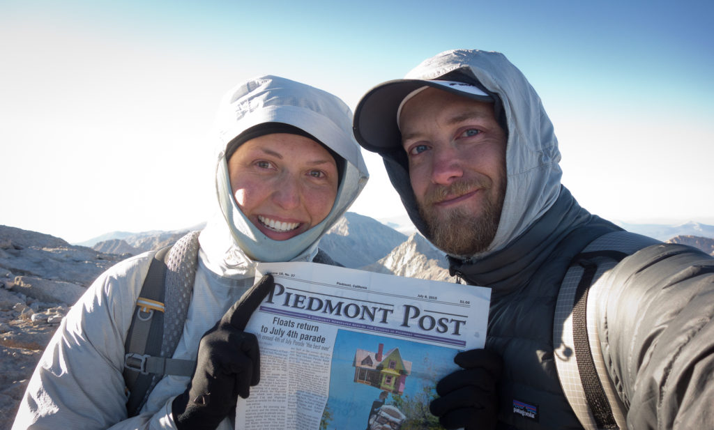 Mom made us hike with the Piedmont Post