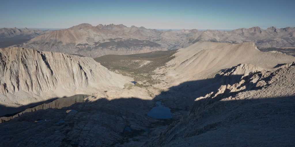 Guitar Lake from Mt. Whitney